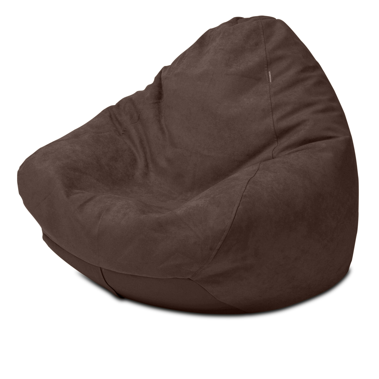 Warwick Macrosuede Queen Size Bean Bag in raisin