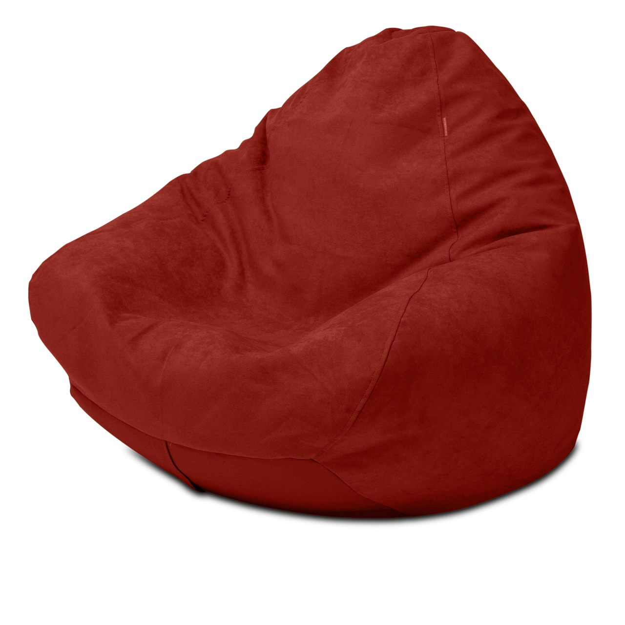 Warwick Macrosuede Queen Size Bean Bag in raspberry