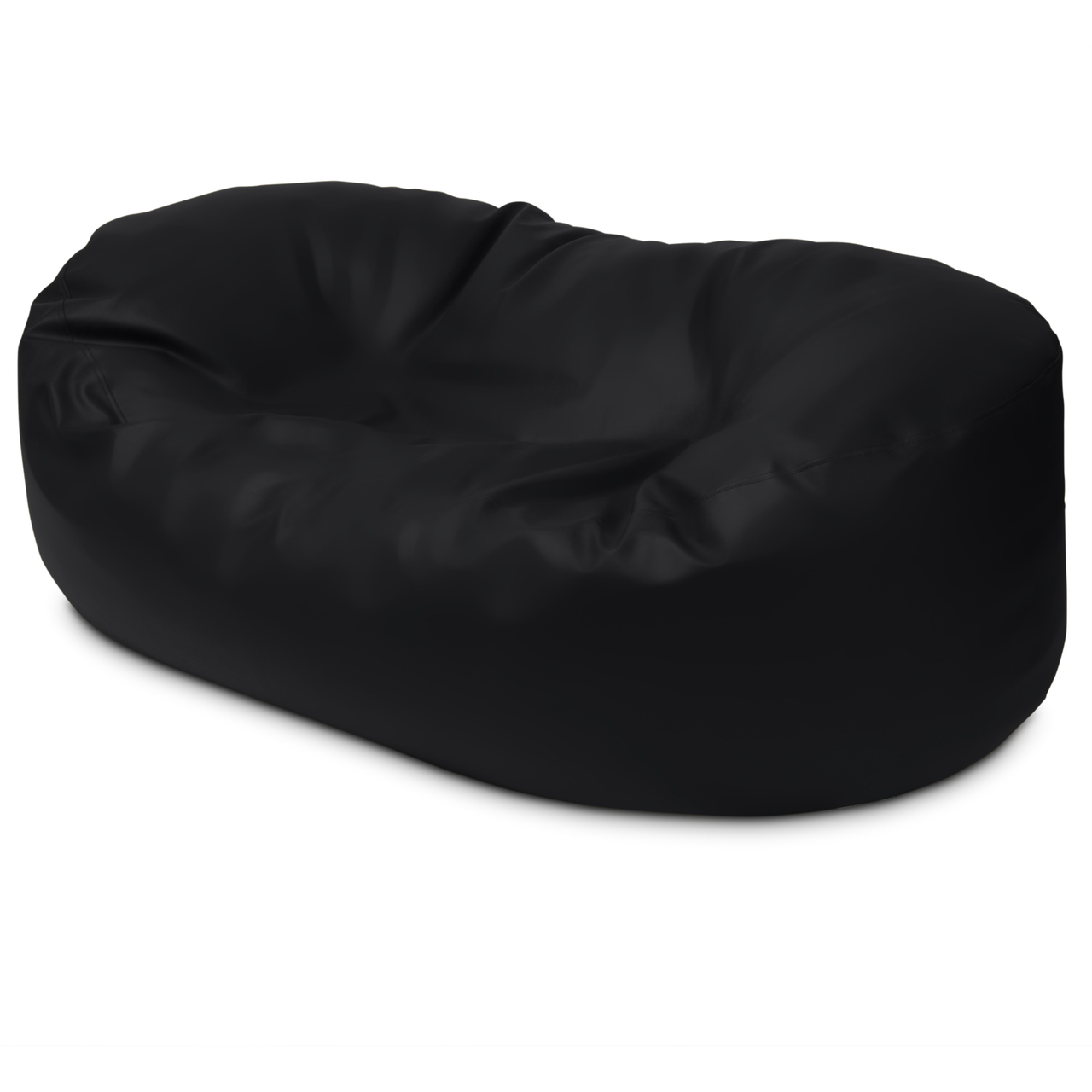 Classic 2m Couch in black