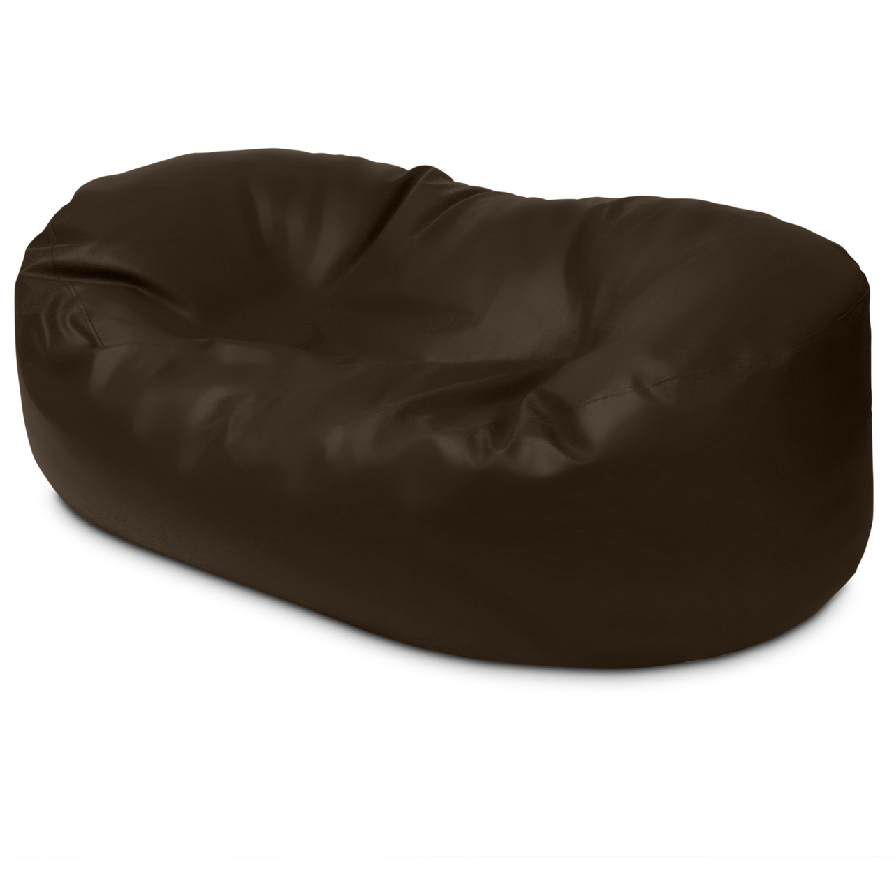 Classic 2m Couch in chocolate