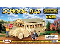 3D Puzzles School Bus