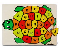 Raised Puzzle Abc Turtle