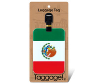 Luggage Tags Mexican Flag