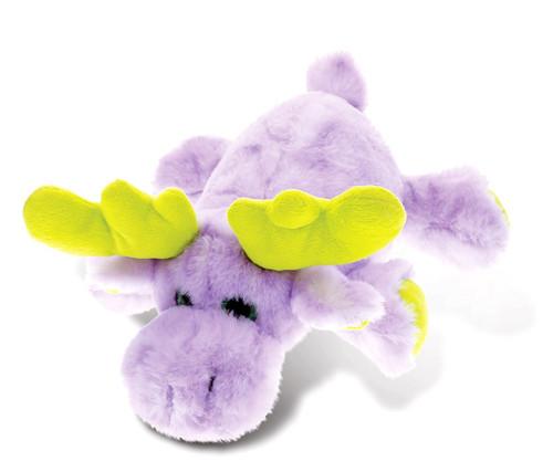 Super Soft Plush Lying Purple Moose