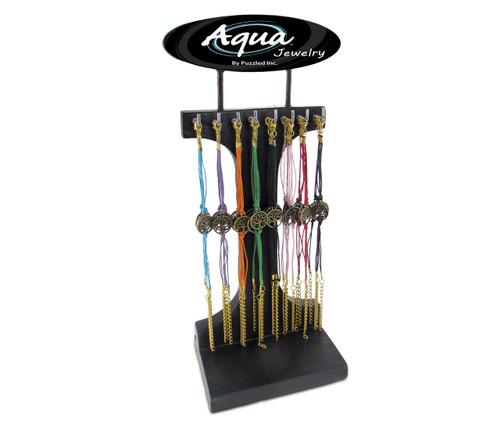 Aqua Bracelets Package Tree Of Life Adjustable