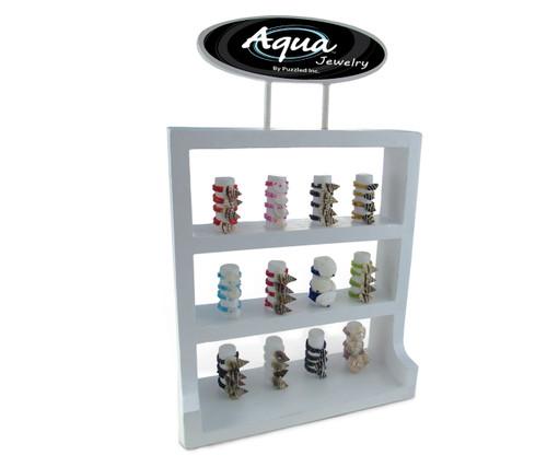 Aqua Toe Finger Rings Package Sea Shell And Beads