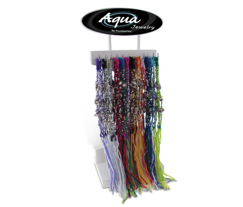 Aqua Anklet Bracelets Package Wool Shell Charms