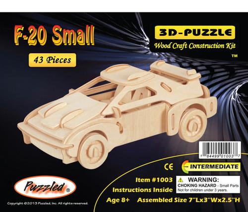 3D Puzzles F-20