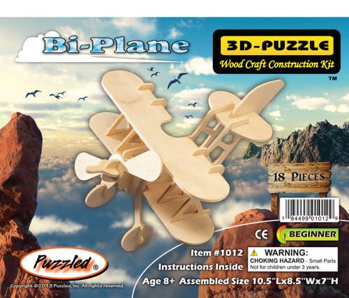 3D Puzzles Bi-Plane