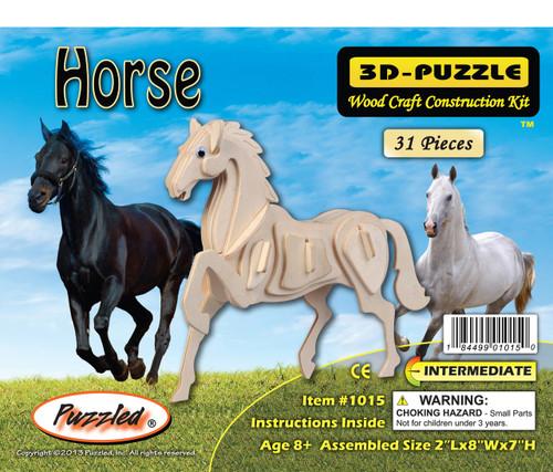3D Puzzles Horse