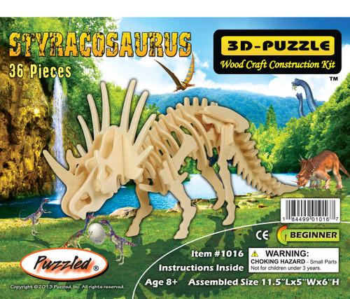 3D Puzzles Styracosaurus