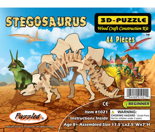 3D Puzzles Stegosaurus