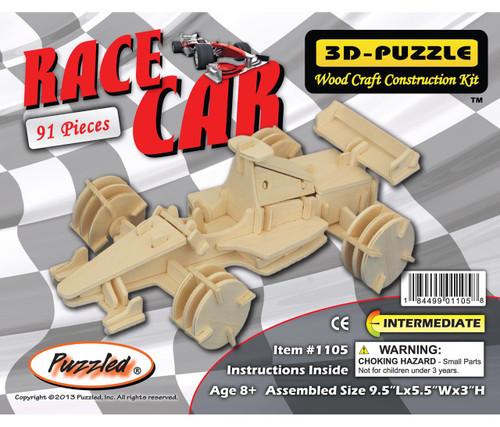 3D Puzzles Race Car