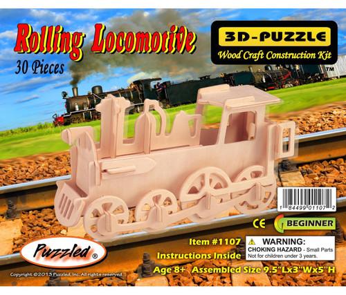 3D Puzzles Rolling Locomotive