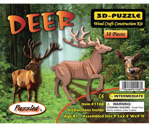 3D Puzzles Deer