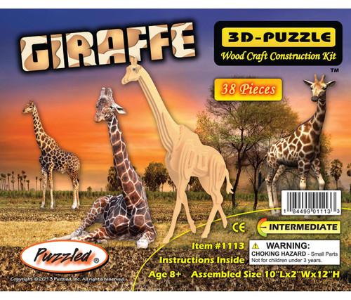 3D Puzzles Giraffe