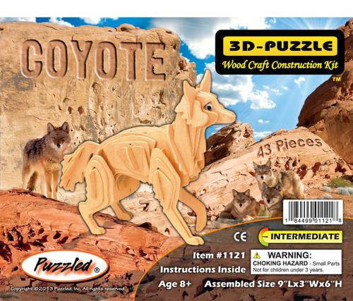 3D Puzzles Coyote