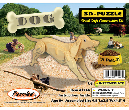 3D Puzzles Dog