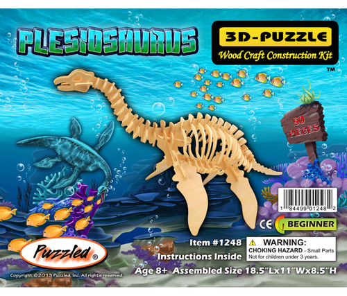 3D Puzzles Plesiosaurus Dinosaurs