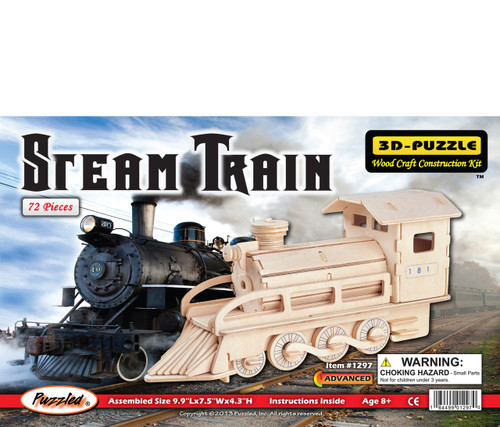 3D Puzzles Steam Train