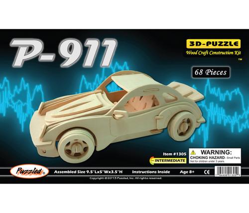 3D Puzzles P-911 Car