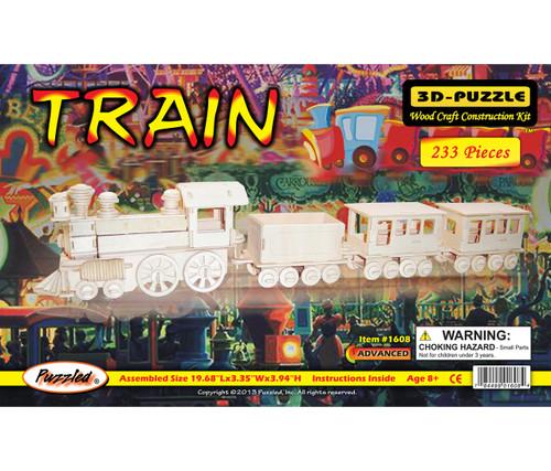 3D Puzzles Train