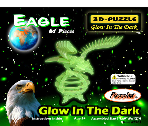 Glow In The Dark 3D Puzzle Eagle