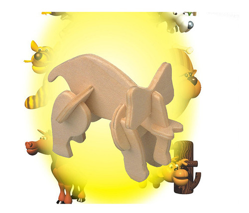 Mini 3D Puzzles Elephant