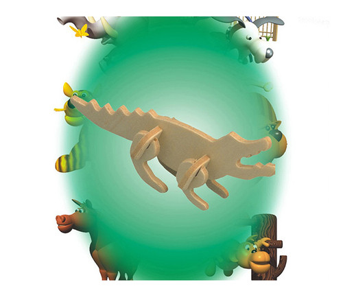 Mini 3D Puzzles Crocodile