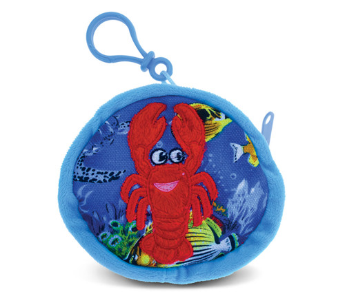 4 Inch Coin Bag Lobster