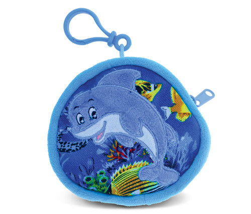 4 Inch Coin Bag Dolphin