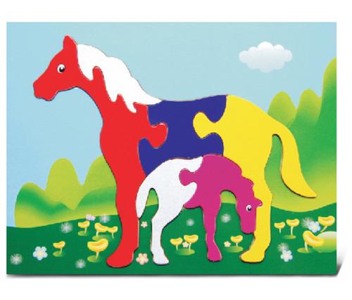 Fun Puzzle Horses