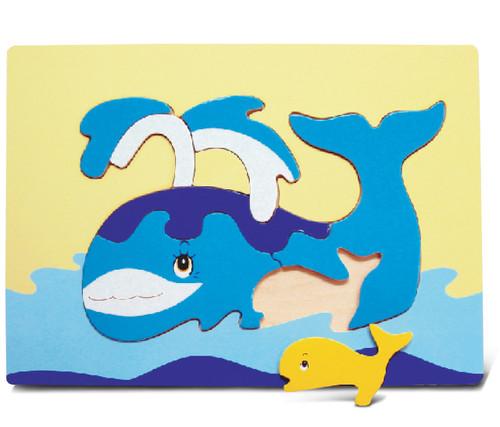 Fun Puzzle Whale