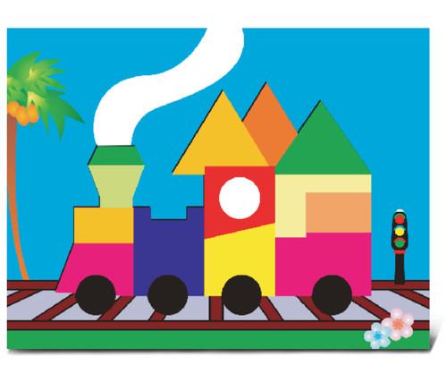 Fun Puzzle Train