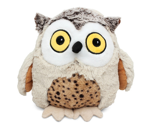 Super Soft Plush Fat Brown Owl