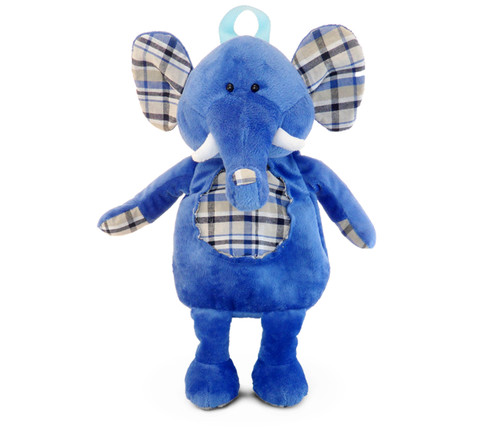 Stylish Plush Backpack Elephant