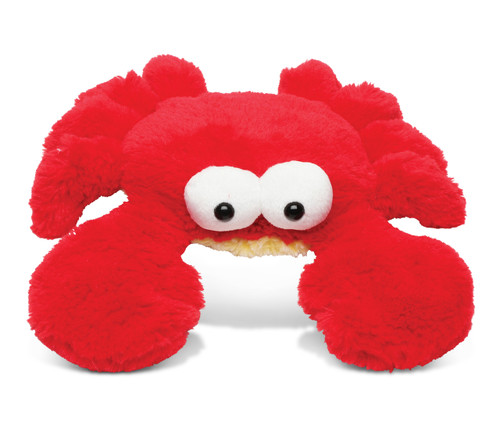 Super Soft Plush Googly Eyes Red Crab Small