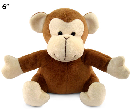 6 Inches Plush Monkey