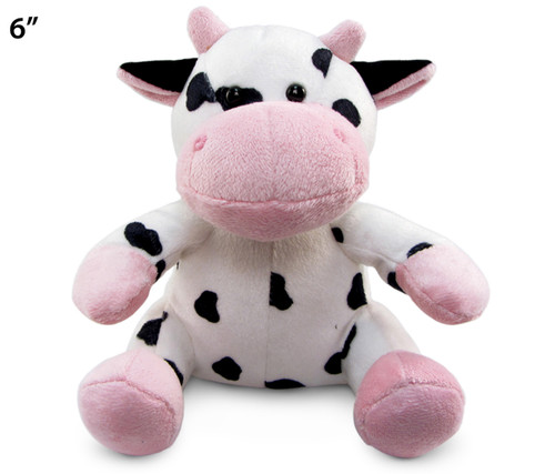 6 Inches Plush Cow