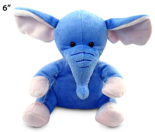 6 Inches Plush Elephant