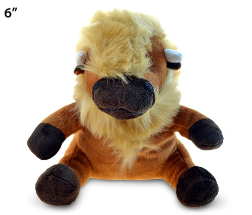 6 Inches Plush Buffalo
