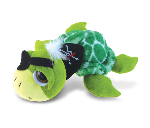 Super-Sof Plush - Green Pirate Turtle