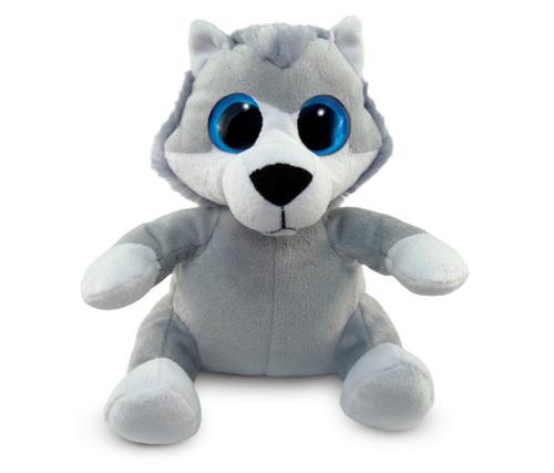 Big Eye 6 Inches Plush Wolf