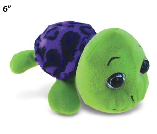 "Big Eye 6"" Plush - Purple Shell Sea Turtle"