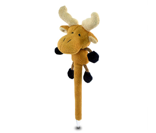Plush Pen Moose