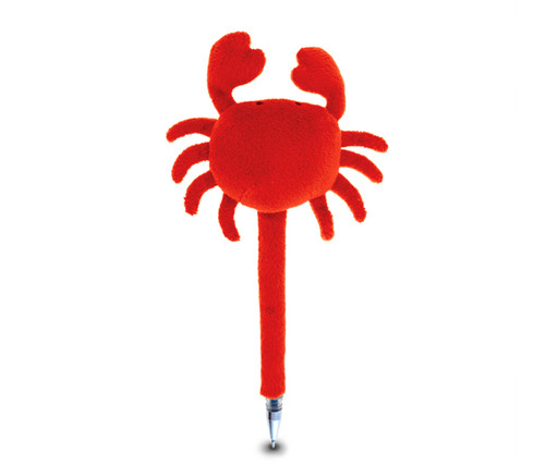 Plush Pen Red Crab