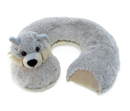 Super Soft Plush Neck Pillow Wolf