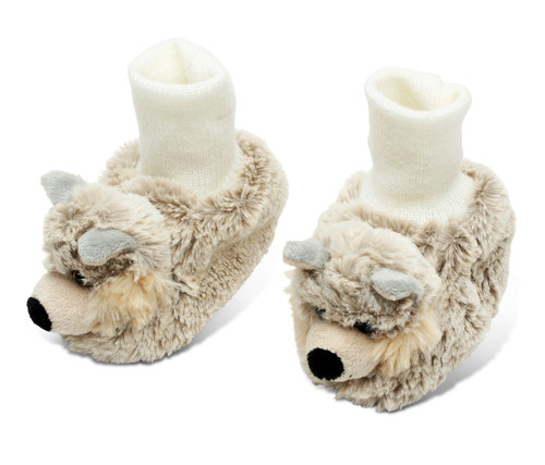 Super Soft Plush Baby Shoes Wolf