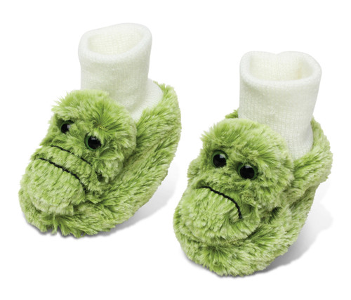 Super Soft Plush Baby Shoes Alligator