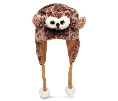 Super Soft Plush Hat Owl